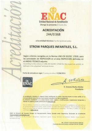 Ampliación de la Acreditación ENAC
